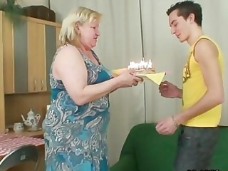 lady comes inside during her big mother rides my