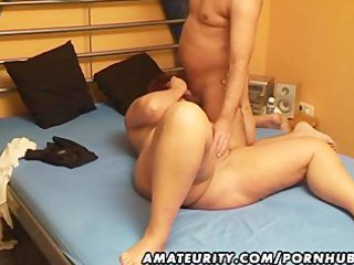 chubby fresh girl sucks and gang-bangs with cum