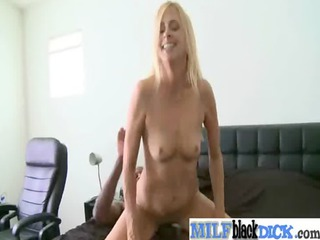 stunning lady own gangbanged by dark hard cock