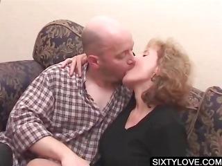 blonde mature obtains cunt teased