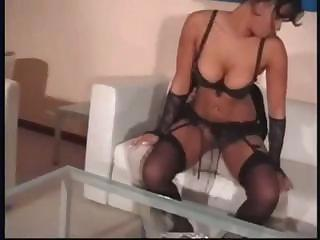 lady slut gives her client a fine workout while