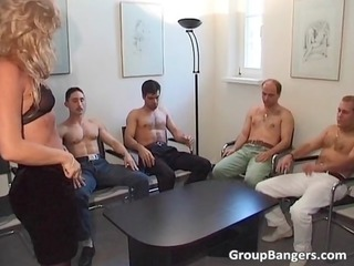 young gang fuck party with some mature