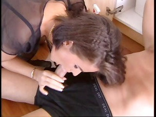french lady fucked by plumber and lover