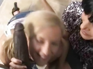 mother and daughter fucked by a ebony guy