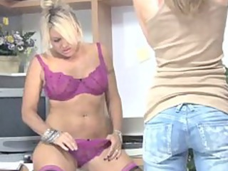 adorable milf assistant housewife