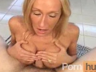 thin big breast milf licking and titty drilling