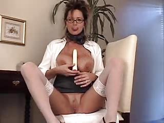 lady irma adores her dildo