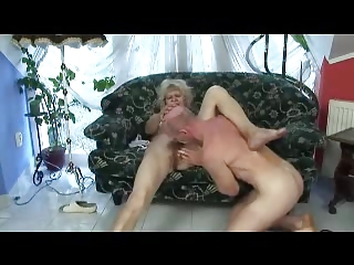 bleached granny fucks