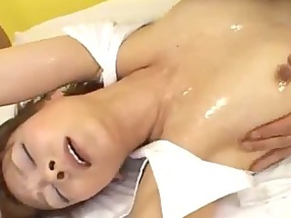 milf gangbanged facial in the gym
