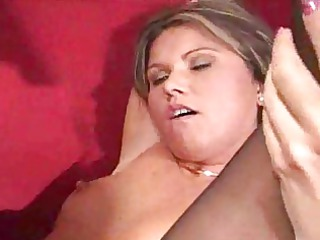horny bureau lady deepthroats and fucks