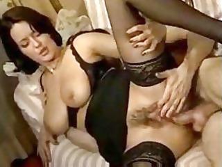 mature babe slut inside ebony nylons acquires her