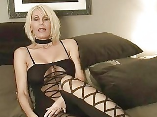 little haired momma in sexy outlook enjoys with