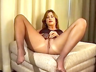 woman spreads her legs and shows ass