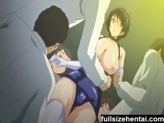 a lady gagging bondage delight