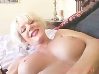 sweet blonde older cumshots grown-up milf