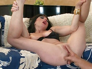 nasty big boobed lady devices her juicy bitch