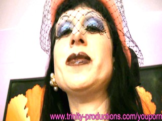 naughty cfnm mature lady smoking german horny talk