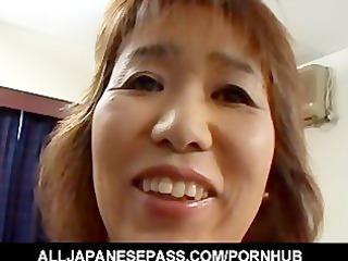 slutty grownup kiriko nakamoto enjoys filling her