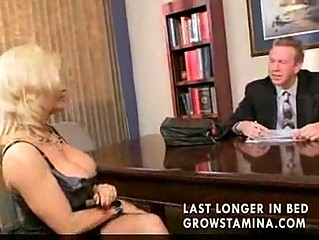 woman blonde get lawyer and gets fucked
