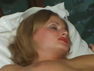 hot albino russian housewife is cheating and
