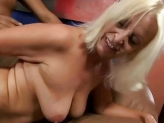 bigboobie granny taking gang-banged by her old