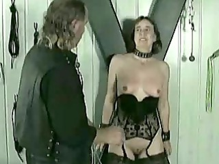 mature slave acquires hits on her vagina and