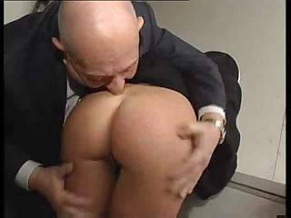 nun and a nasty old man obtain to masturbating