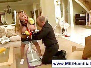 tied up belle gets spanked