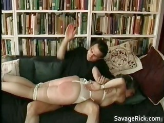 slutty mature babe is sex slave in weird bondage