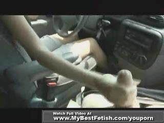 handjob while driving