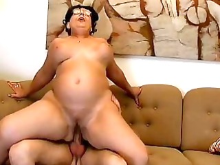 large tits moma obtains pierced uneasy