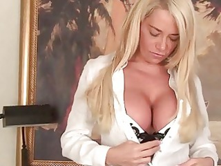 extremely impressive breasted cougar girl babe
