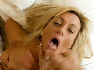 huge tits elderly older girl takes gangbanged