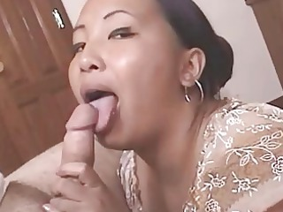 nasty mature eastern takes cumfaced after