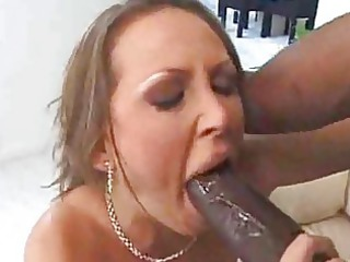 white woman housewife fucks dark man interracial