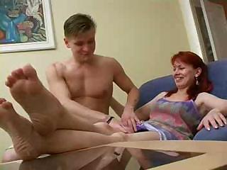russian milf seduced by her son part1