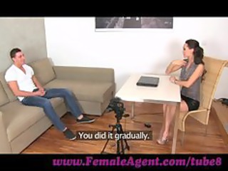 femaleagent.young stud horny for work.