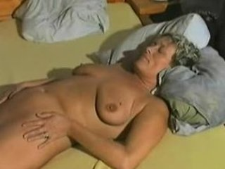 elderly dildoing and farting