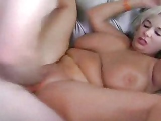 fat blonde angel tasting gang-banging and getting