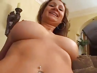 sweet wife with sweet boobs banged at house