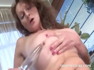 naughty mature licking and gang-banging sex toy