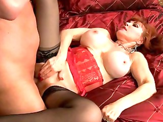 large breasted cougar wench banged in sweet