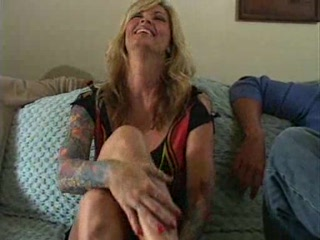 desperate blonde mature babe janine and two dudes