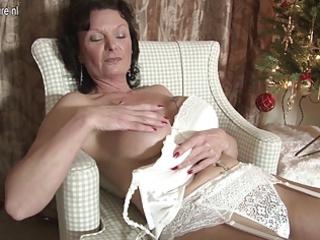 sexy european angel adores to masturbate