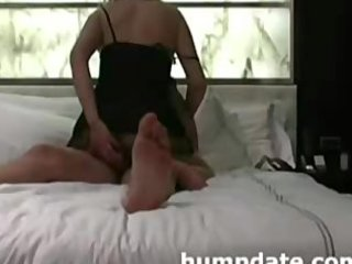 desperate babe sex toys her butt during she
