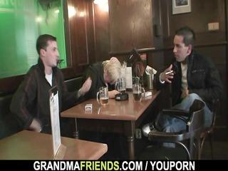 two fuckers pierce totally desperate granny