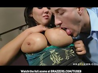 cheating lady brunette girl with bigtits obtains