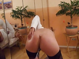 awesome woman exposes her pussy masturbate