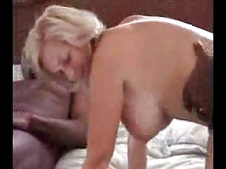 mature blondes having a celebration