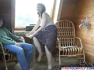 ravishing russian lady seduces a inexperienced